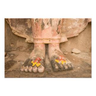 Asien Thailand, Sukhothai, Buddhas fot och Fototryck