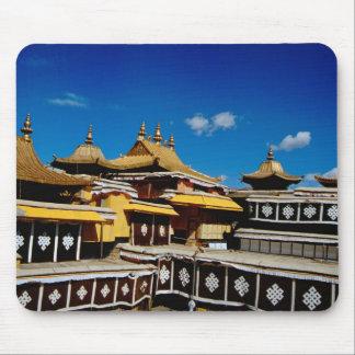 Asien Tibet, Lhasa, röd Potala slott aka Mus Mattor