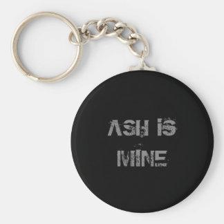 Aska Keychain Rund Nyckelring