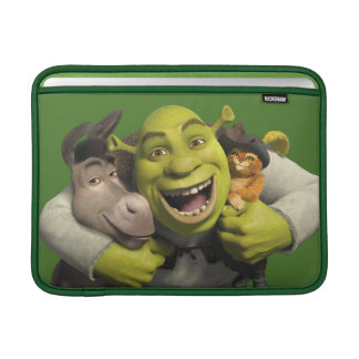 Åsna, Shrek och kissekatt i kängor MacBook Air Sleeve
