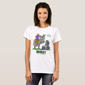 Åsna vid Lorenzo kvinna T-tröja T Shirts