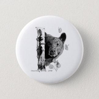 Asp- björn standard knapp rund 5.7 cm