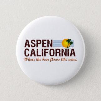 Asp- Kalifornien Standard Knapp Rund 5.7 Cm