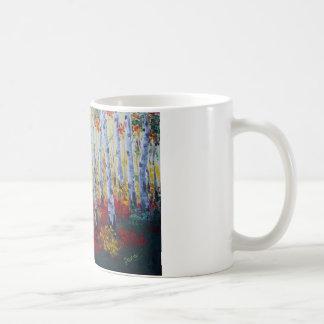 Asp- skog kaffemugg