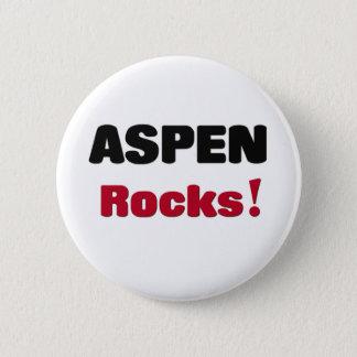 Asp- stenar standard knapp rund 5.7 cm