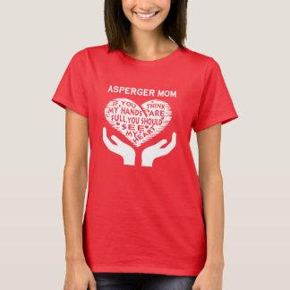 Asperger mamma tee shirt