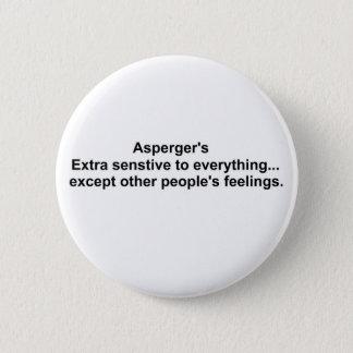 Aspergers utrustar standard knapp rund 5.7 cm