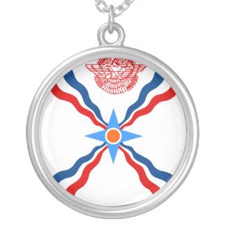 Assyrien Democratic Republic of the Congo Silverpläterat Halsband