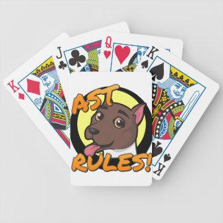 AST-regler! Spelkort