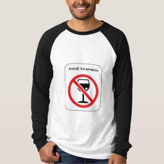 Astral medvetenhet t-shirt