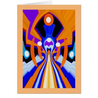 Astral prophecy hälsningskort