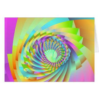 astral spiral hälsningskort