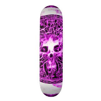 Astral spöke för Skully skalle Old School Skateboard Bräda 18 Cm