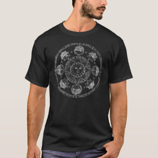 Astrologi cirklar tee shirt