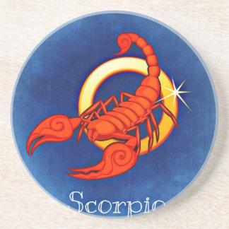 Astrologi undertecknar scorpioen underlägg sandsten