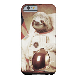 AstronautSloth Barely There iPhone 6 Fodral