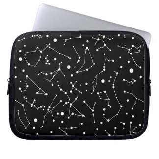 Astronomer drömm konstellationmönster laptop sleeve