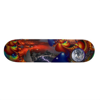 Astronomi Domine Old School Skateboard Bräda 21,6 Cm