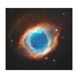 Astronomi för spiralNebulautrymme Canvastryck