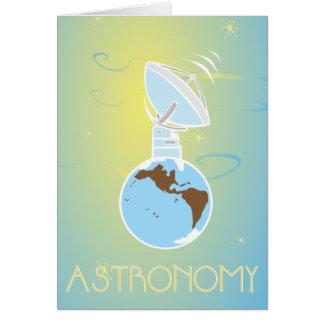 Astronomi Hälsnings Kort