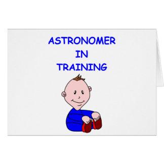 astronomibebis hälsningskort
