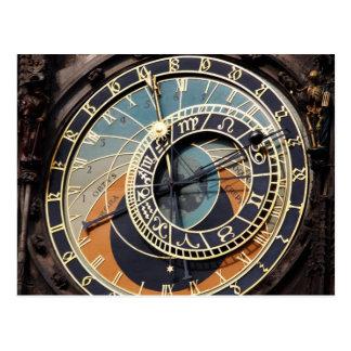 Astronomical ta tid på i Praque Vykort