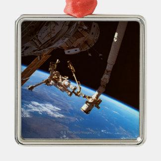 Astronuats gå julgransprydnad metall
