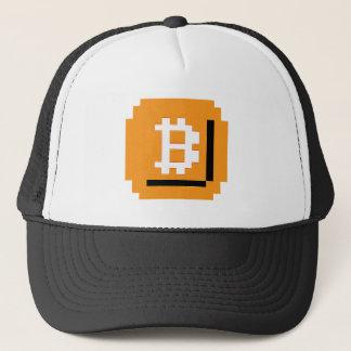Åt bet den Bitcoin kvarterhatten Truckerkeps