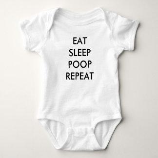 äta barnkläder för sömnsömnrepetition tröja
