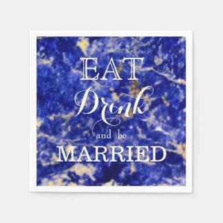 Äta drinken och att gifta sig pappersservett