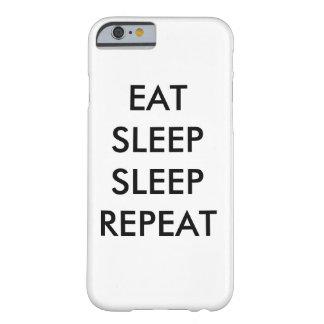 äta fodral för iphonen 6/s för sömnsömnrepetition barely there iPhone 6 fodral