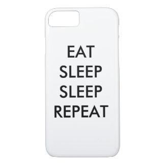 äta fodral för iPhonen 7/s för sömnsömnrepetition