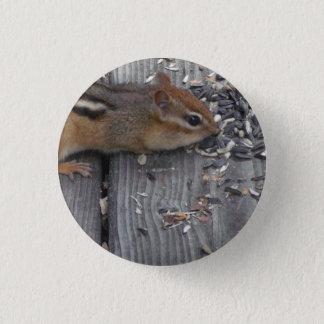 Äta för jordekorre mini knapp rund 3.2 cm