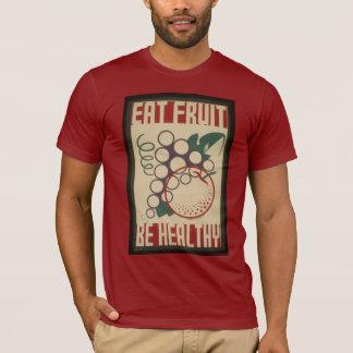 Äta fruktskjortan tee shirt