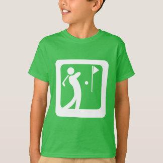 Äta golfklubben för personen för sömnGolfGolf den Tshirts