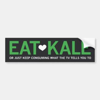 Äta Kale Bildekal