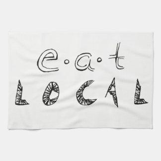 Äta lokalen kökshandduk