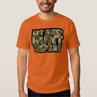 Äta manar för sömnjaktrepetition roliga Tshirt Tee Shirt