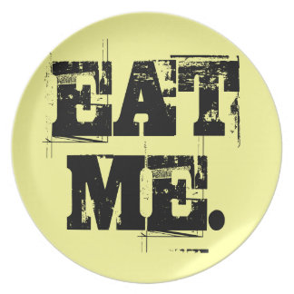 Äta mig. Plätera Tallrik