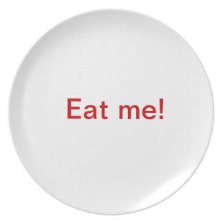 Äta mig! tallrik