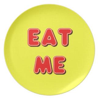 Äta mig tallrikar