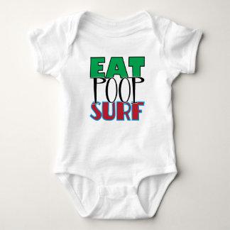 Äta Poopsurfa T-shirts