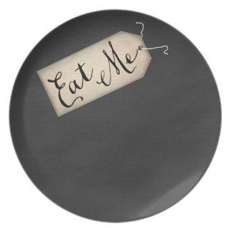 Äta som mig, pläterar melaminen tallrik