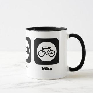 Äta. Sömn. Cykel. Mugg