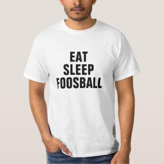 Äta sömn Foosball T Shirts