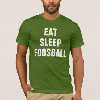 Äta sömn Foosball Tshirts