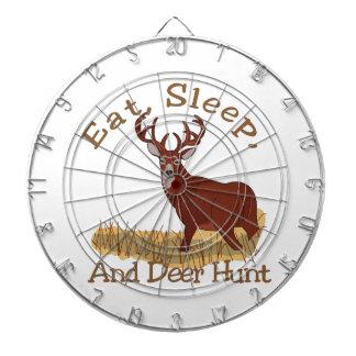 Äta, sömn & hjortjakten piltavla