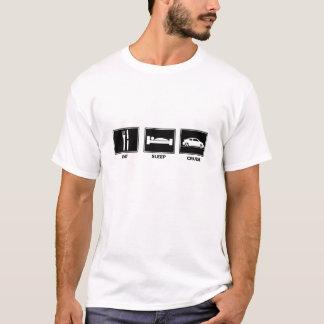 Äta/sömn/kryssning tc t shirts