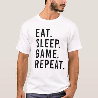 ÄTA. SÖMN. LEK. REPETITION. GeekT-tröja T-shirts
