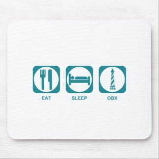 Äta sömn OBX Musmatta